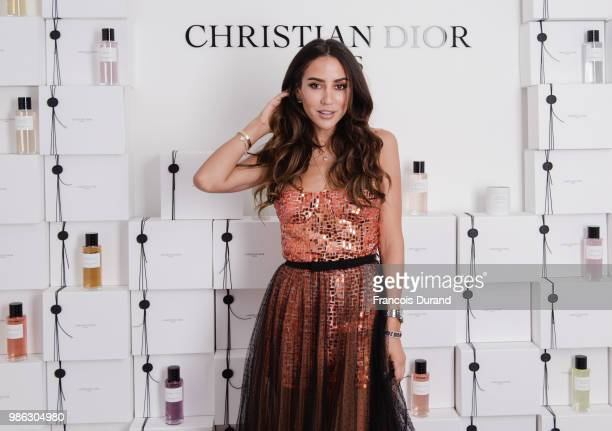 Tamara Kalinic attends the Maison Christian Dior Dinner at the Maison Christian Dior Apartment at Place Vendome on June 27 2018 in Paris France