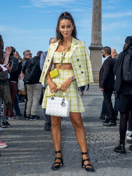 FRA: Celebrity Sightings : Day Two - Paris Fashion Week - Womenswear Spring Summer 2022
