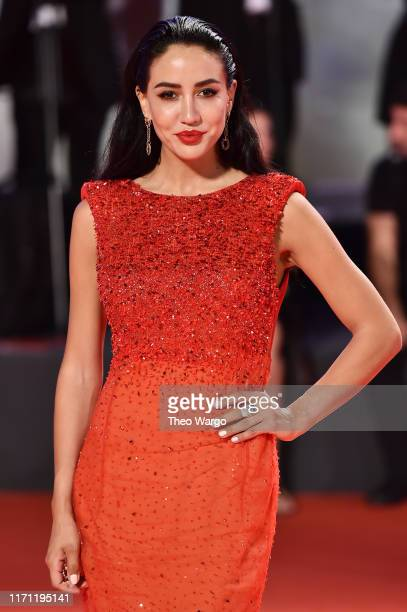 Tamara Kalinic walks the red carpet ahead of the Seberg screening during the 76th Venice Film Festival at Sala Grande on August 30 2019 in Venice...