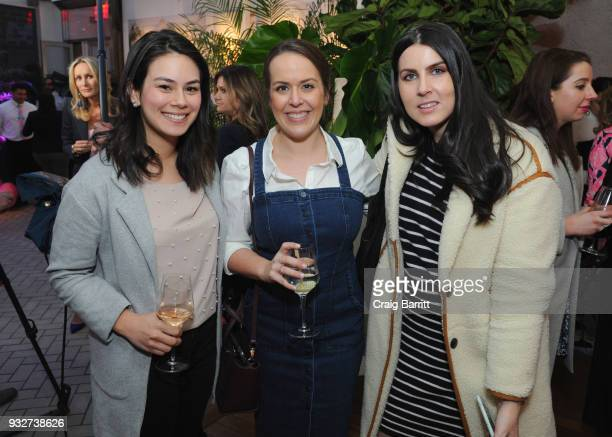 Tamara Kraus Stephanie Sisco and Danielle Blundell attend the Launch Celebration of the Pottery Barn Pottery Barn Kids PBteen and Lilly Pulitzer...