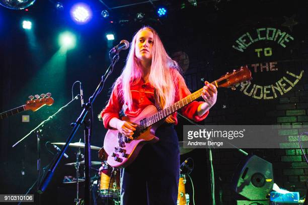 Tamara Lindeman of The Weather Station performs at Brudenell Social Club on January 25 2018 in Leeds England