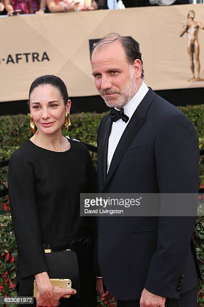 Tamara MalkinStuart and actor Nick Sandow attend the 23rd Annual Screen Actors Guild Awards at The Shrine Expo Hall on January 29 2017 in Los Angeles...