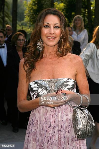 Tamara Mellon arrives at amfAR's Cinema Against AIDS 2008 benefit held at Le Moulin de Mougins during the 61st International Cannes Film Festival on...