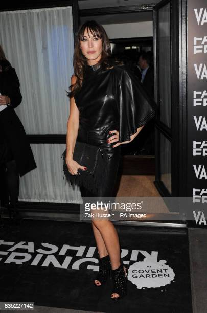 Tamara Mellon arrives for the Fashion Fringe 2009 launch party at Tini in south west London