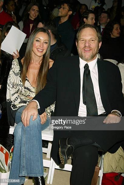 Tamara Mellon of Jimmy Choo and boyfriend Harvey Weinstein