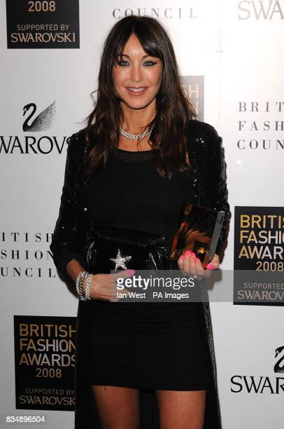 a0c41c658e2a Tamara Mellon of Jimmy Choo collects the award for best Designer Brand at  the 2008 British
