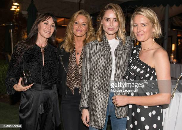 Tamara Mellon Paige AdamsGeller Anine Bing and Anita Patrickson cohost the She's The Boss Panel at Palisades Village on October 25 2018 in Pacific...