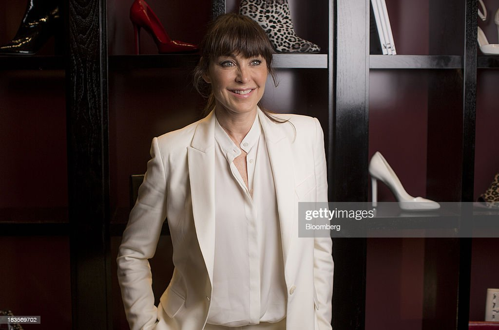 Tamara Mellon, president of TM Enterprises, poses for a photograph in London, U.K., on Monday, Oct. 7, 2013. This autumn, Mellon, is launching her own line of clothes and shoes. Photographer: Jason Alden/Bloomberg via Getty Images