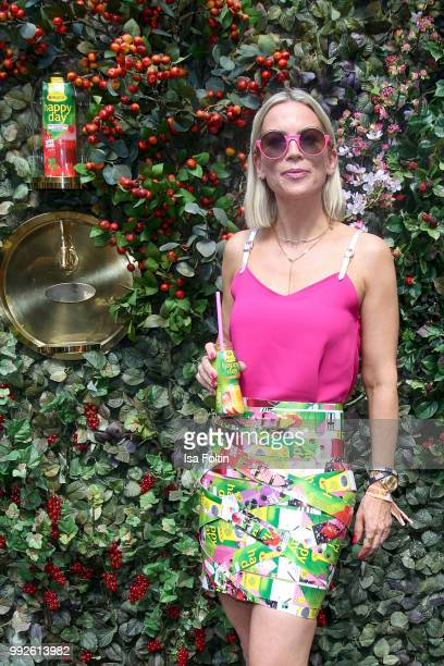 Tamara Nayhauss attends The Fashion Hub during the Berlin Fashion Week Spring/Summer 2019 at Ellington Hotel on July 5 2018 in Berlin Germany