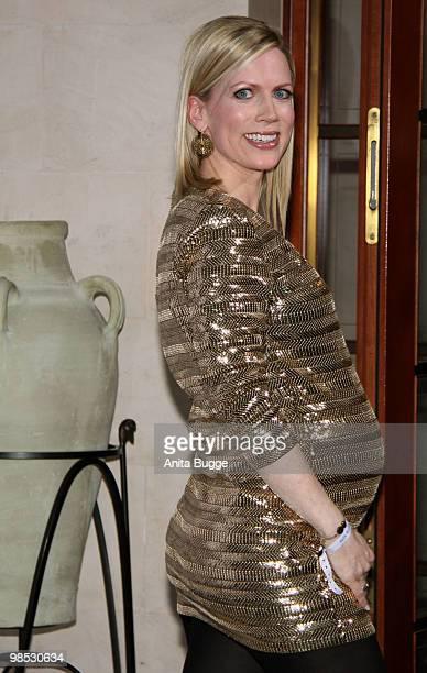 Tamara Nayhauss attends the 'Felix Burda Award' at the Adlon hotel on April 18 2010 in Berlin Germany