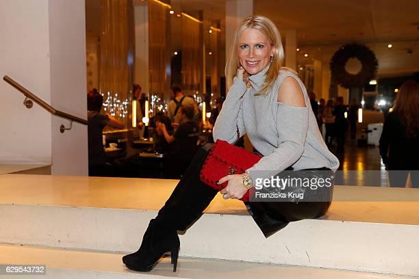 Tamara Nayhauss attends the Shan's Beauty Dinner on December 13 2016 in Berlin Germany