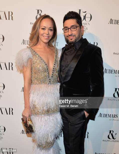 Tamara Ralph and Michael Russo attend Harper's Bazaar Women of the Year Awards 2017 Sponsored by Audemars Piguet on November 2 2017 in London England