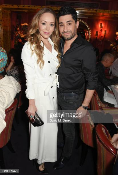 Tamara Ralph and Michael Russo attend the 'Can't Stop Won't Stop A Bad Boy Story' dinner hosted by Sean 'Diddy' Combs Naomi Campbell presented by...