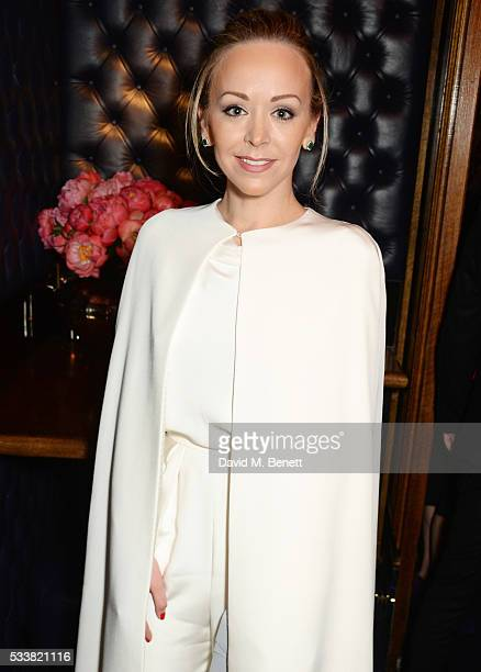 Tamara Ralph attends British Vogue's Centenary birthday party at Tramp on May 23 2016 in London England