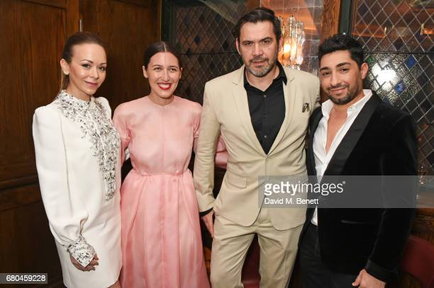 Tamara Ralph Emilia Wickstead Roland Mouret and Michael Russo attend a combined celebratory VIP dinner marking The Ivy's centenary year and 150 years...