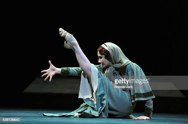 "Tamara Rojo as Isadora Duncan in the Royal Ballet's production of Kenneth MacMillan's ballet ""Isadora"" at the Royal Opera House Covent Garden in..."