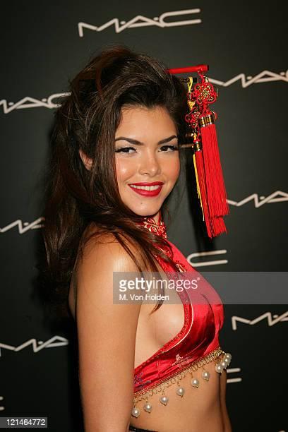 Tamara Sky, Miss Puerto Rico during Olympus Fashion Week Fall 2006 - MAC Chinese New Year Party at Eyebeam in New York City, New York, United States.