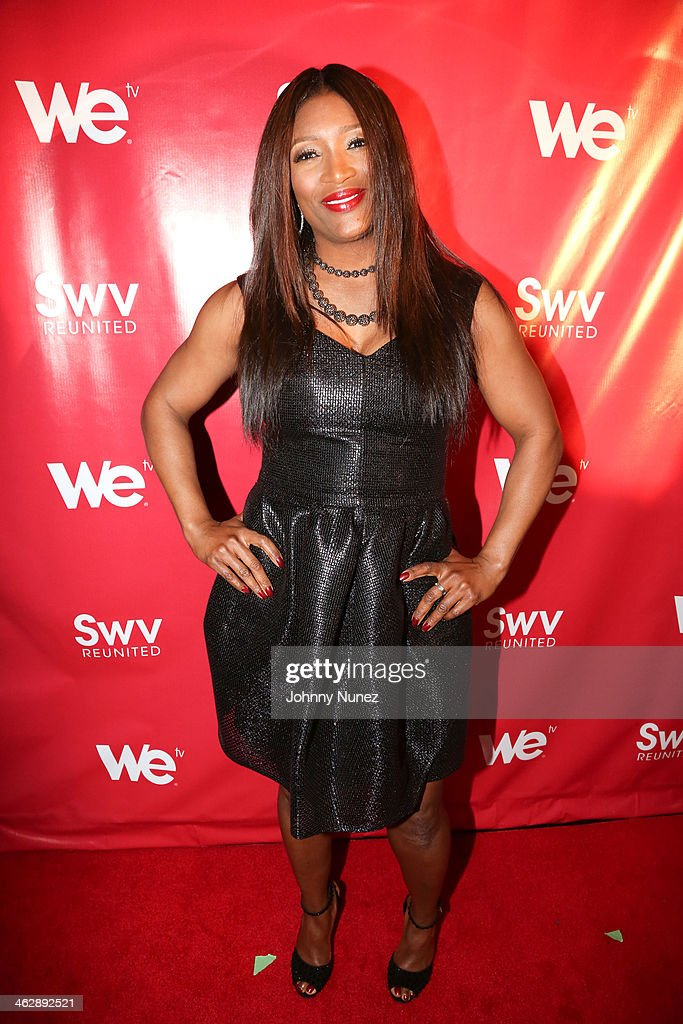 Tamara 'Taj' George of SWV attends the 'SWV Reunited' series premiere at Jazz Room at the General on January 15, 2014 in New York City.