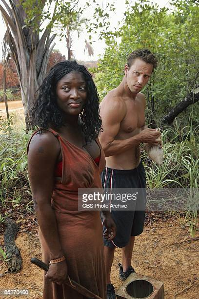 Tamara 'Taj' JohnsonGeorge and Brendan Synnott on Exile Island during the second episode of SURVIVOR TOCANTINS THE BRAZILIAN HIGHLANDS Thursday Feb...