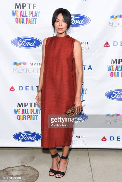 Tamara Taylor attends MPTF's Annual NextGen Summer Party at Paramount Pictures on August 16 2018 in Los Angeles California