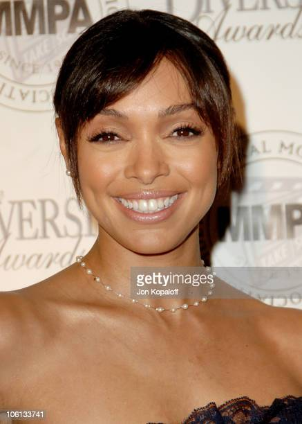 Tamara Taylor during 14th Annual Diversity Awards Arrivals at Century Plaza Hotel in Century City California United States