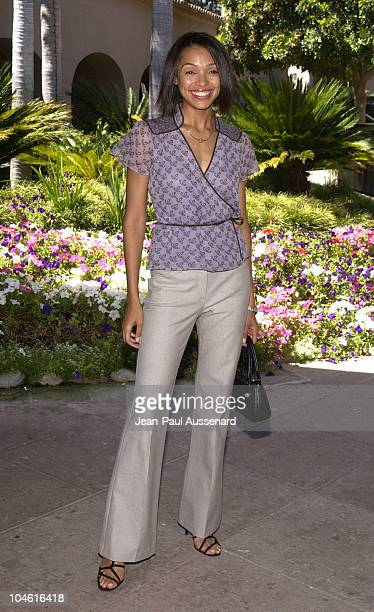 Tamara Taylor during NBC Summer 2002 Press Tour Day 1 at Ritz Carlton Hotel in Pasadena California United States