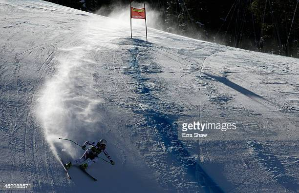 Tamara Tippler of Austria in action during day 2 of training on Raptor for the FIS Beaver Creek Ladies Downhill World Cup on November 27 2013 in...