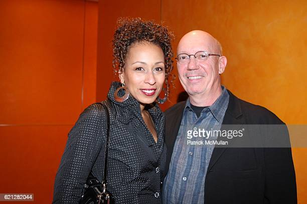Tamara Tunie and Dan Florek attend A Night of Film Fashion and Fun to Benefit BYKIDS Their World Their Films at TheTimesCenter on May 10 2008 in New...
