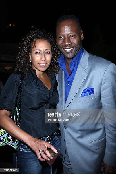 Tamara Tunie and Gregory Generet attend SCREEN GEMS Presents the World Premiere of LAKEVIEW TERRACE at AMC Lincoln Square on September 15 2008 in New...