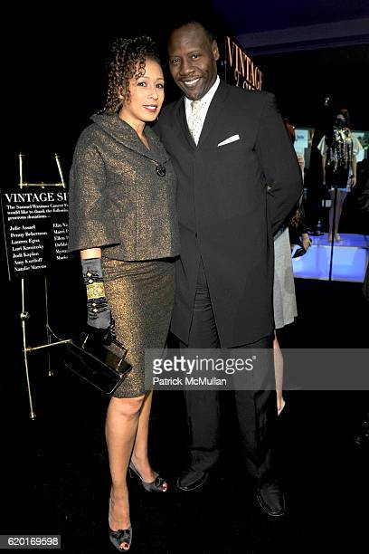 Tamara Tunie and Gregory Generet attend THE SAMUEL WAXMAN CANCER RESEARCH FOUNDATION Benefit Collaborating For A Cure at 69th Regiment Armory on...