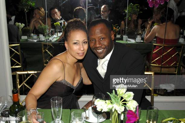 Tamara Tunie and Gregory Generet attend The Society of MSKCC'S 3rd Annual Spring Ball at The Pierre on May 18th 2010 in New York City