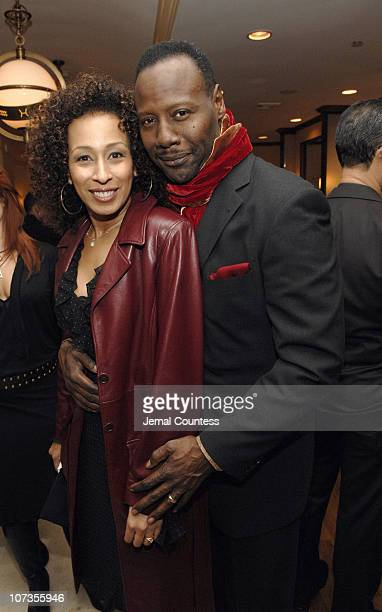 Tamara Tunie and Gregory Generet during Brenda Braxton Star of Broadway's Chicago and Fitness Expert Anthony Van Putten Open BBraxton The First...