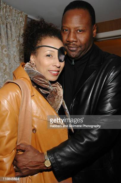 Tamara Tunie and Gregory Generet during Star Jones Reynolds celebrates Dress for Success with Penthouse Party March 13 2006 at 70 park avenue hotel...