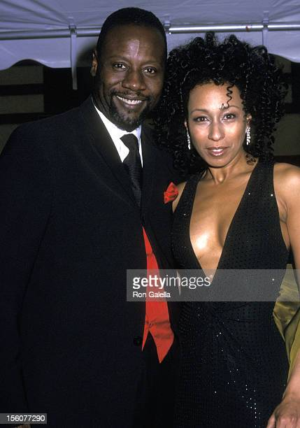 Tamara Tunie and husband Gregory Generet during The 29th Annual Daytime Emmy AwardsArrivals at Madison Square Garden in New York City New York United...