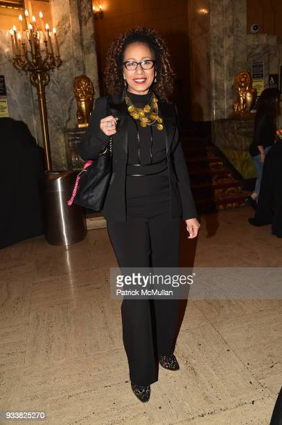 Tamara Tunie attends Love Rocks NYC VIP Rehearsal Cocktail at Beacon Theatre on March 14 2018 in New York City Tamara Tunie
