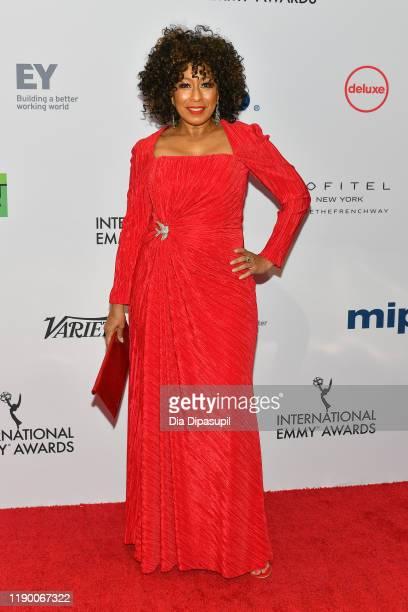 Tamara Tunie attends the 2019 International Emmy Awards Gala on November 25, 2019 in New York City.