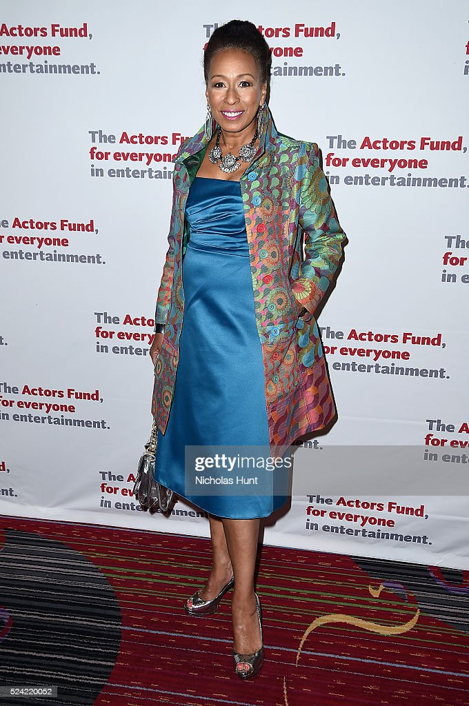 Tamara Tunie attends The Actors Fund 2016 Gala at Marriott Marquis Times Square on April 25, 2016 in New York City.