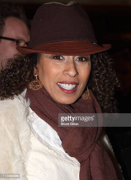 """Tamara Tunie attends the opening night of """"Liza's At The Palace..."""" on Broadway at the Palace Theatre on December 3, 2008 in New York City."""