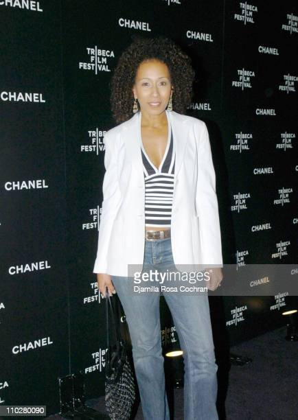 Tamara Tunie during 5th Annual Tribeca Film Festival - Chanel Dinner at Opening of Mr. Chow Celebrating Artists of the Tribeca Film Festival at Mr....