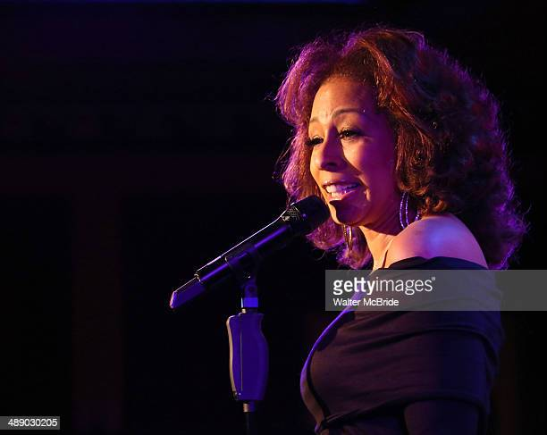 Tamara Tunie during a press preview of her show 'Legends from the Burgh' at 54 Below on May 9, 2014 in New York City.