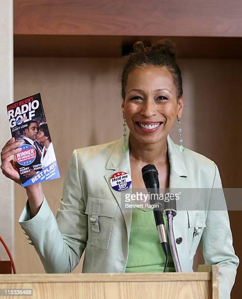 Tamara Tunie during Harlem Dowling West Side Center Pre-Gala VIP Breakfast Honoring Congressman Charles Rangel at Chevorlet-Saturn of Harlem in New...