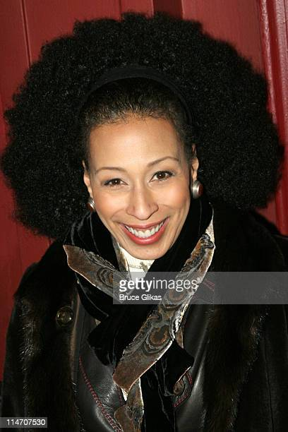 Tamara Tunie during Sarah Jones' Bridge and Tunnel Broadway Opening Night Arrivals at Helen Hayes Theatre in New York City New York United States