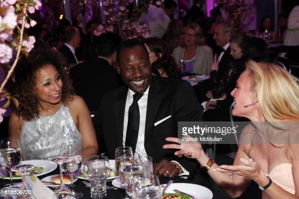 Tamara Tunie Gregory Generet and Muffie Potter Aston attend HALE HOUSE CENTER 2010 Spring Dinner Dance Honoring Frederick Anderson Judith Giuliani at...