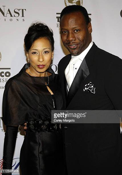 Tamara Tunie of As The World Turns and Gregory Generet