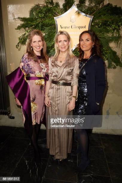 Tamara von Nayhauss and Anna von Griesheim attend the Veuve Clicquot Business Woman Award 2017 at The Grand on November 29 2017 in Berlin Berlin