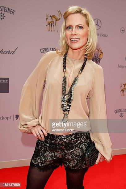 Tamara von Nayhauss arrives at Tribute To Bambi at Station on October 17 2013 in Berlin Germany