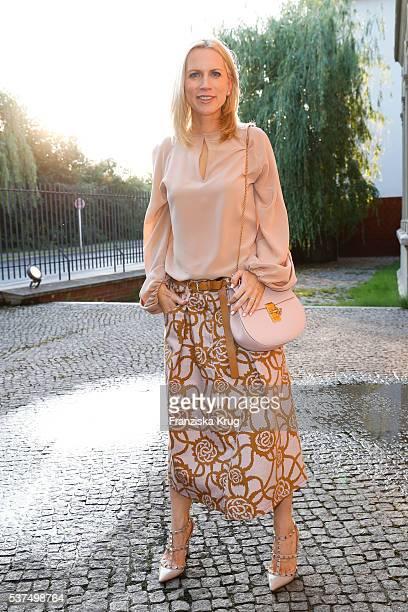 Tamara von Nayhauss attends the Montblanc De La Culture Arts Patronage Award 2016 at Historisches Pumpwerk on June 01 2016 in Berlin Germany