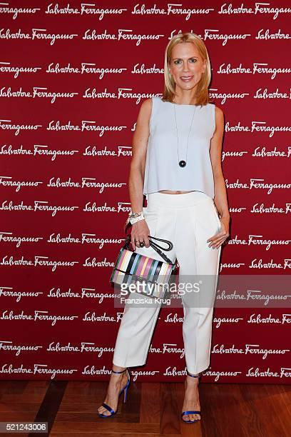 Tamara von Nayhauss attends the Salvatore Ferragamo Shop Opening on April 14 in Berlin 2016 Germany