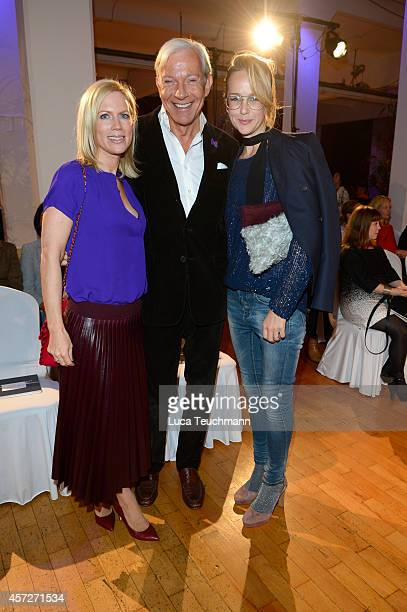 Tamara von Nayhauss Jo Groebel and Esther Seibt attend ESMOD Berlin Celebrates Their 20 Year Anniversary the Loewe Saal on October 15 2014 in Berlin...