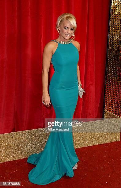Tamara Wall attends the British Soap Awards 2016 at Hackney Empire on May 28 2016 in London England